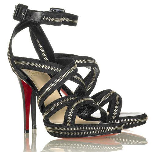 Zipper Sandal от Christian Louboutin