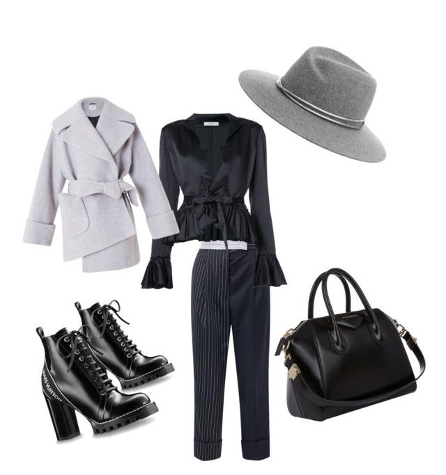 """""""Thursday"""" by madisonkiss on Polyvore featuring Thom Browne, Givenchy, Tome and rag & bone"""