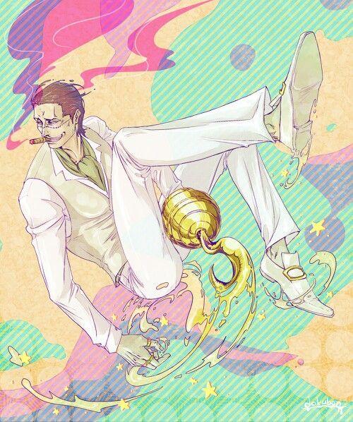 Love this! Sir Crocodile One Piece