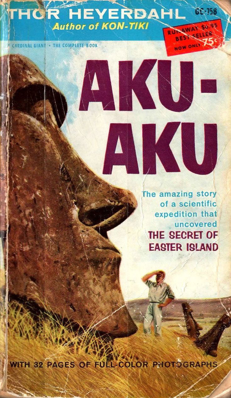 22 best hodgepodge of books images on pinterest book cover art a distant past for me see more aku aku by thor heyerdahl pocket books inc this mass market edition fandeluxe Images