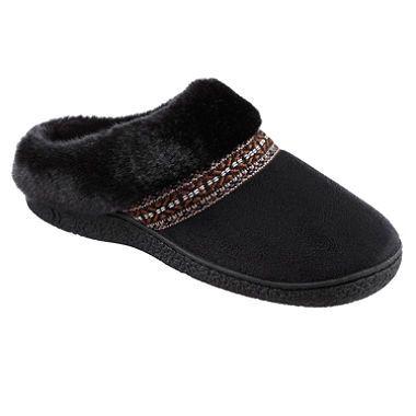 Isotoner Women's Smartzone Gel Comfort Technology Slippers ...