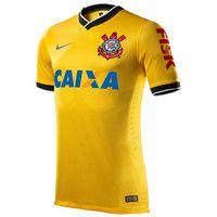 Nike Corinthians Torcedor 2014 III Manga Curta Masculino