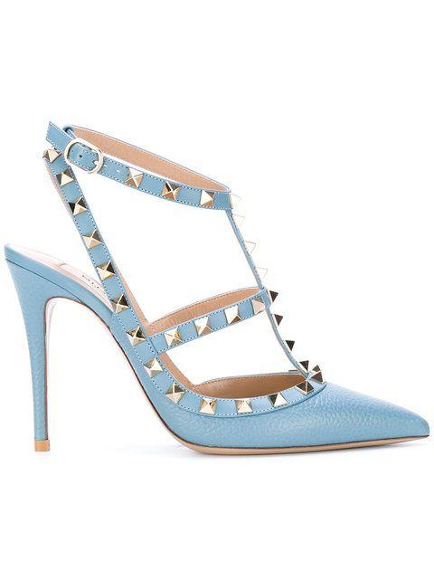 VALENTINO Valentino Garavani Rockstud Pumps. #valentino #shoes #pumps