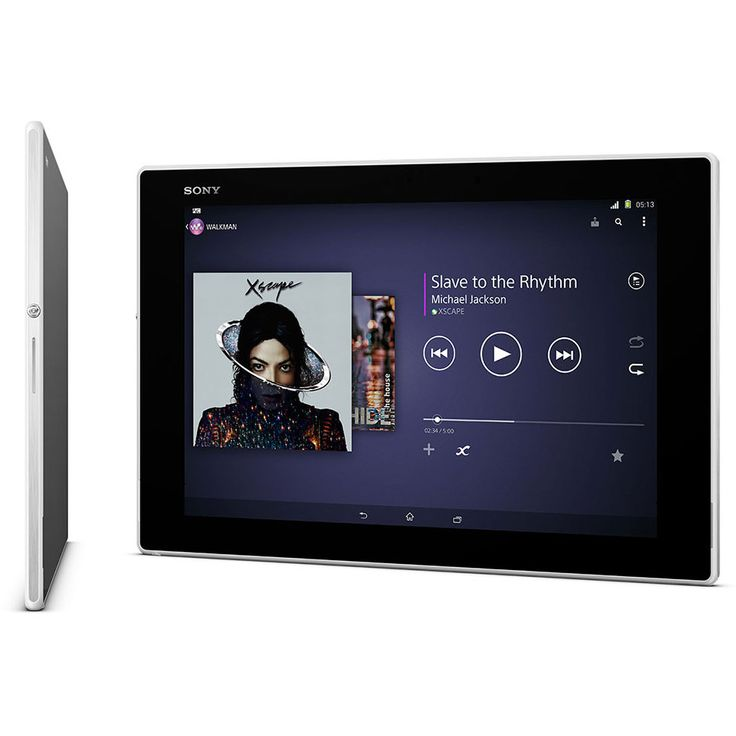 Tableta Sony Xperia Z2, 16 GB, 4 G, Alb