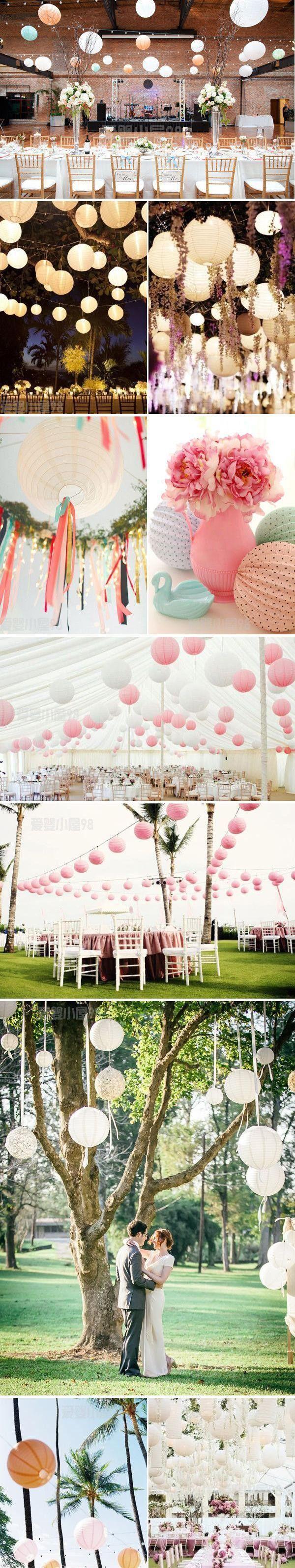 O envio gratuito de 20 pçs/lote 12 '' papel chinês lanterna de papel da lâmpada decoração de casamento branco cores para a decoração do partido em Materiais para festas & comemorações de Casa & jardim no AliExpress.com | Alibaba Group
