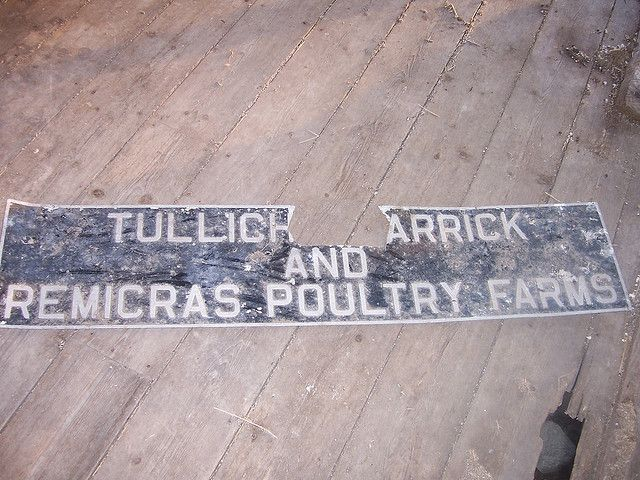 Tullichmacarrick and Remicras farm signs | Flickr - Photo Sharing!