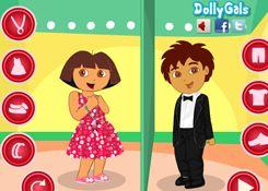 JuegosdeDora.net - Juego: Dora y Diego - Jugar Gratis Online Tienes que cuidar de Dora ser su doctor, de oídos, nariz, su dentista, también la asistirás cuando este en problemas, tienes que cuidar, sanar, ayudar en su embarazo y parto. Vestir, limpiar su cutis y maquillar a Dora y sus amigos en la ciudad, Alana, Kate, Naiya, Emma, Pablo