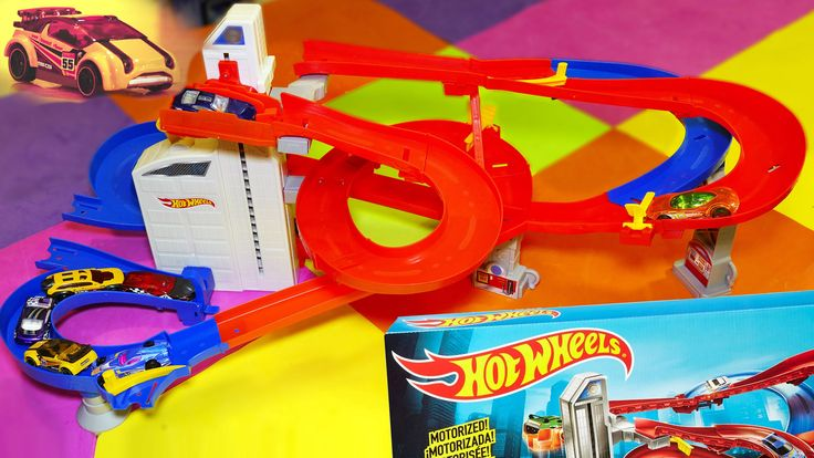 Auto Lift Expressway Hot Wheels Track - Kid Toys Are Fun