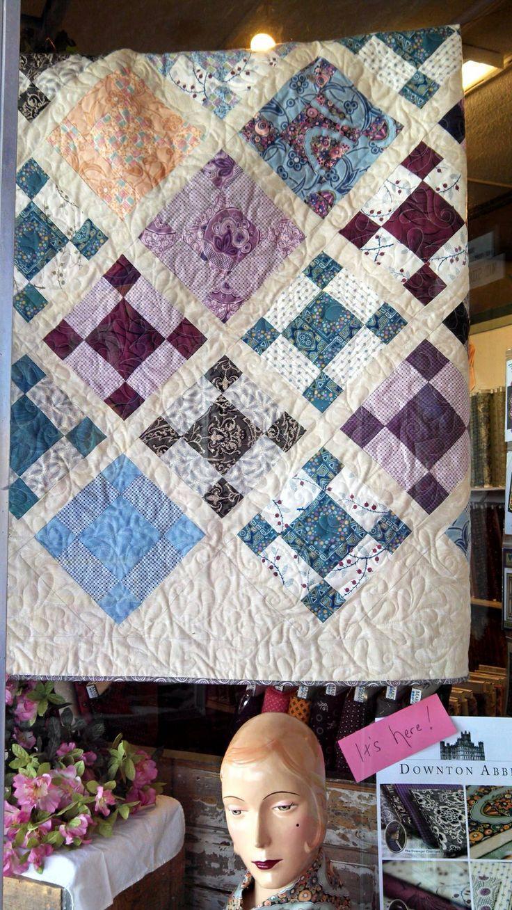 24 best Downton Abbey Quilts images on Pinterest | Quilt patterns ... : downton abbey quilt pattern - Adamdwight.com