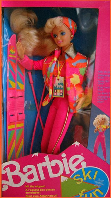 Ski Fun Barbie - 1990 I always wanted this one and I never got her!