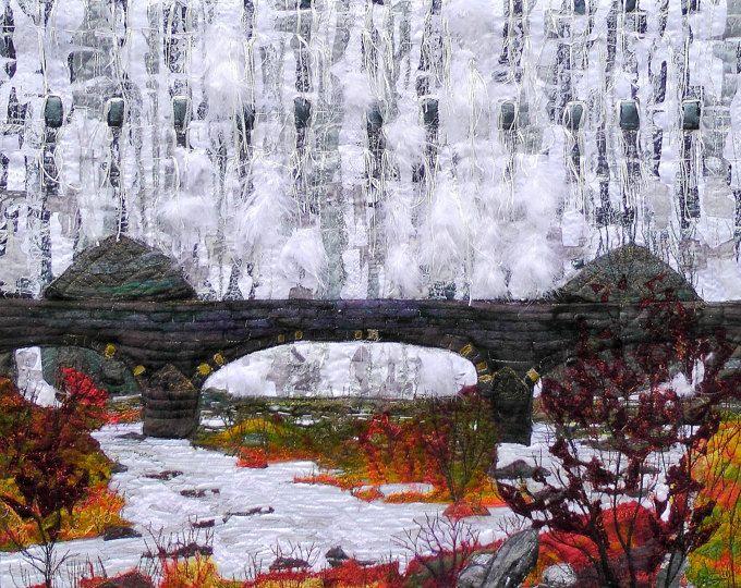 13 best stephanie redfern images on Pinterest Collage, Textile - cascada de pared