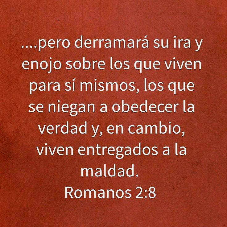 Pero eres terco y te niegas a arrepentirte y abandonar tu pecado, por eso vas acumulando un castigo terrible para ti mismo. Pues se acerca el día de la ira, en el cual se manifestará el justo juicio de Dios. Dará vida eterna a los que siguen haciendo el bien, pues de esa manera demuestran que buscan la gloria, el honor y la inmortalidad que Dios ofrece; Romanos 2:5, 7 NTV http://bible.com/127/rom.2.5-7.NTV