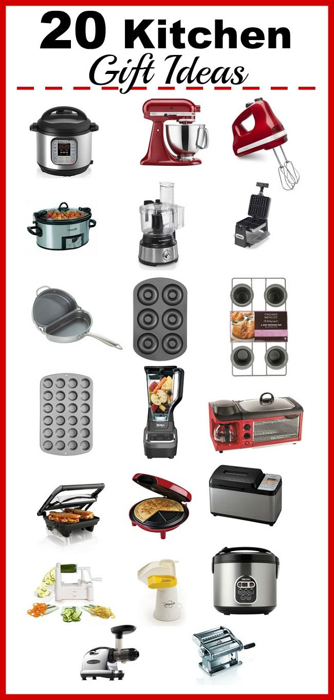 Appliances every kitchen needs to run efficiently!  There are so many wonderful kitchen gadgets out there that can make every aspect of cooking faster and easier (so you'll eat at home and not out)! Here's a list of 20 Kitchen Gadgets that will make home cooking easier!