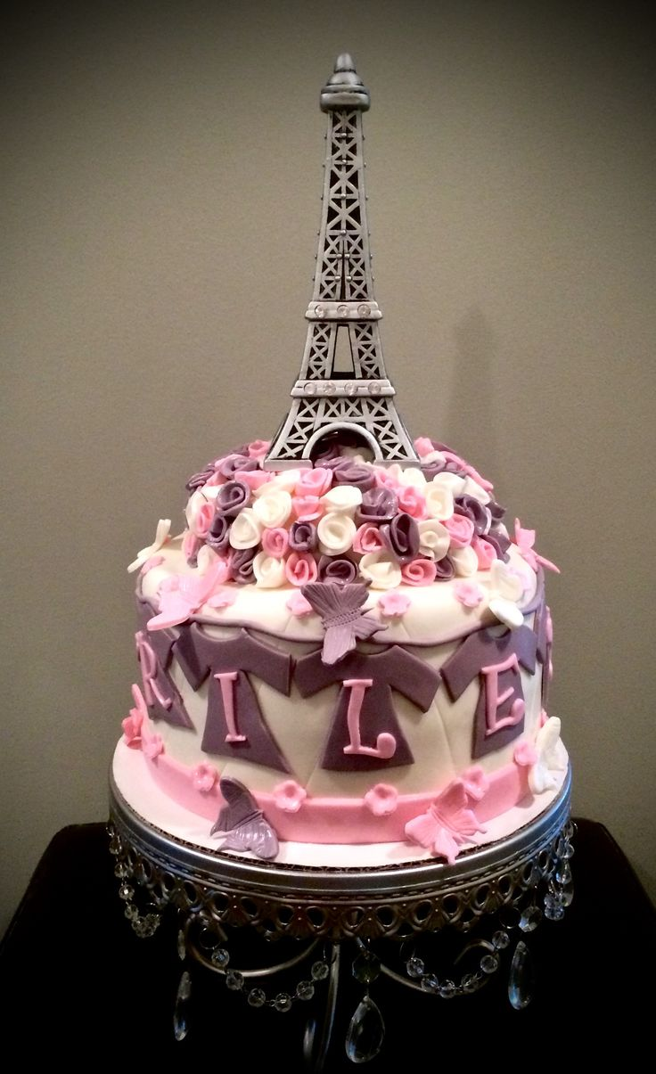 Good Baby Shower Cakes Calgary Part - 4: Sweety Cakes - Www.sweetycakes.ca Custom Calgary Cakes Eiffel Tower Baby  Shower Cake! #paris #eiffeltowercake #babyshowercake | Pinterest | Babies,  Showers ...