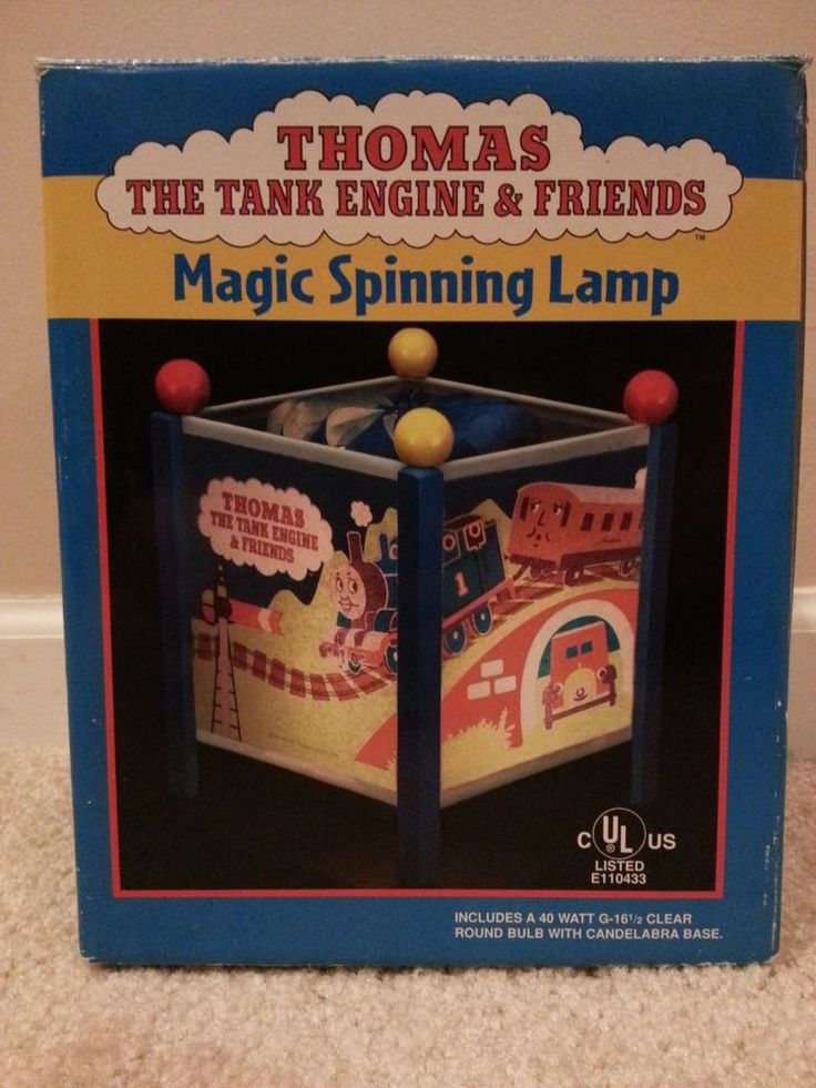 Details about Thomas the Tank Engine Train Magic Spinning ...