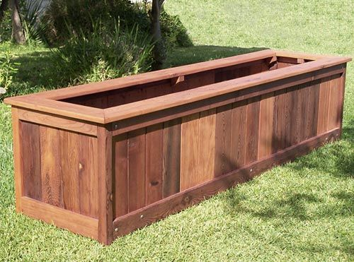 Build vegetable planter box woodworking projects plans for Vegetable garden planter box designs