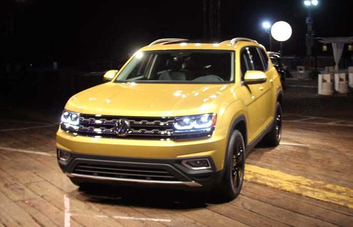 2018 VW Atlas overview