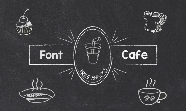 Welcome to Our Typography Cafe – Get These Free Chalkboard Fonts!