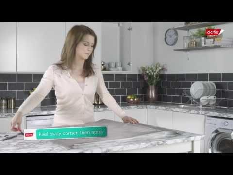 HOW TO: Montere kontaktplast på slette kjøkkenskap  #selvklebende folie #perlegrå #treverk #gjørdetselv #kjøkken