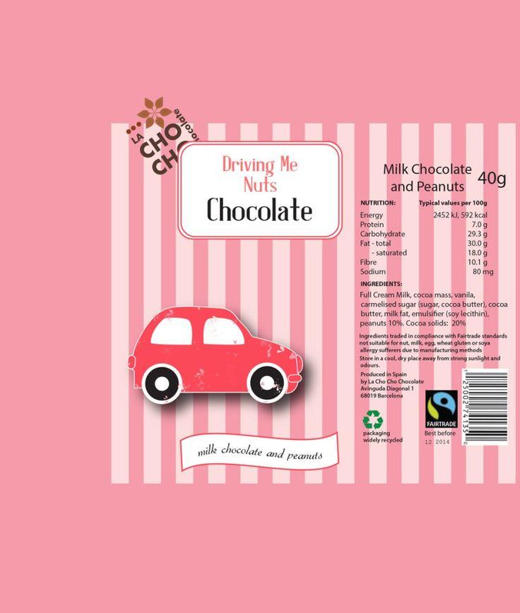 chocolate bar car