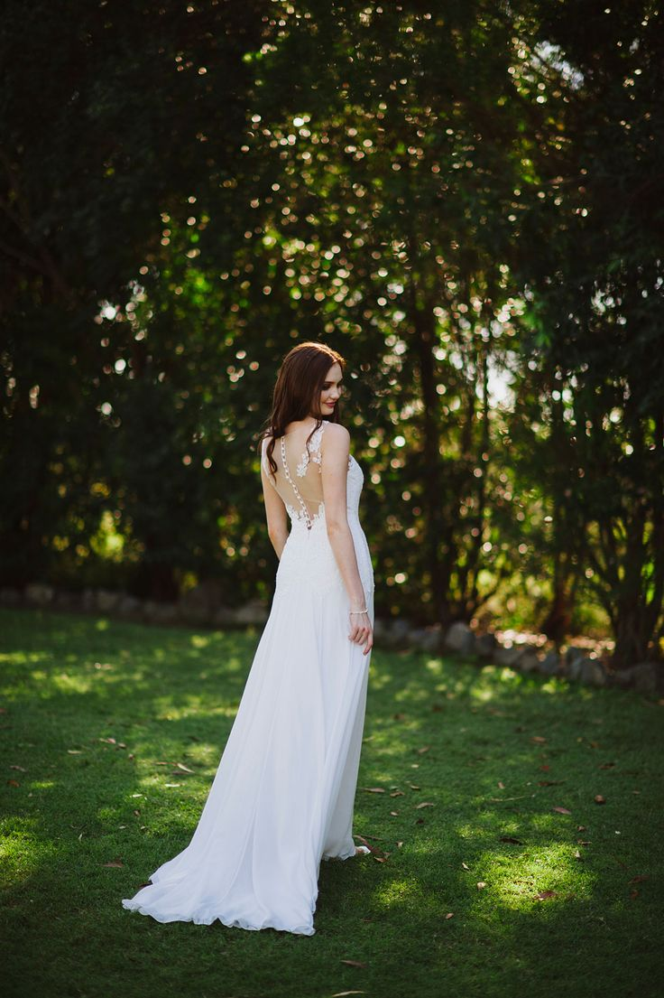 Remi's back is just exquisite with the tattoo lace on the illusion back.