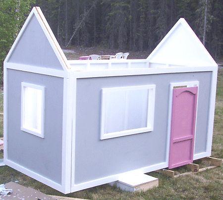 Build a Playhouse {tutorial) -- darling!