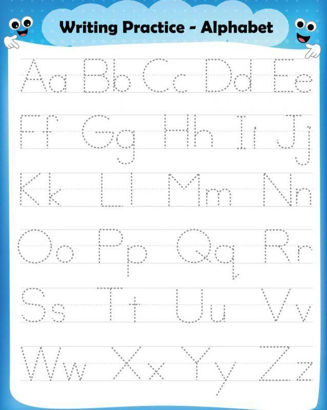 15 Free English Worksheets For Kids Alphabet Worksheets Preschool English Worksheets For Kids Kids Worksheets Preschool Practice writing alphabet worksheet