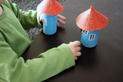 Moomin Houses-  Moomin  are hippopotamus-looking trolls that live in the forests  of Finland and have lots of adventures