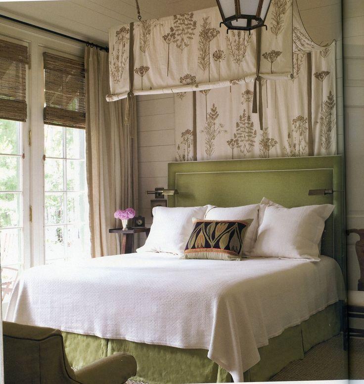 Architect Bill Ingram bakehouse. Master bedroom