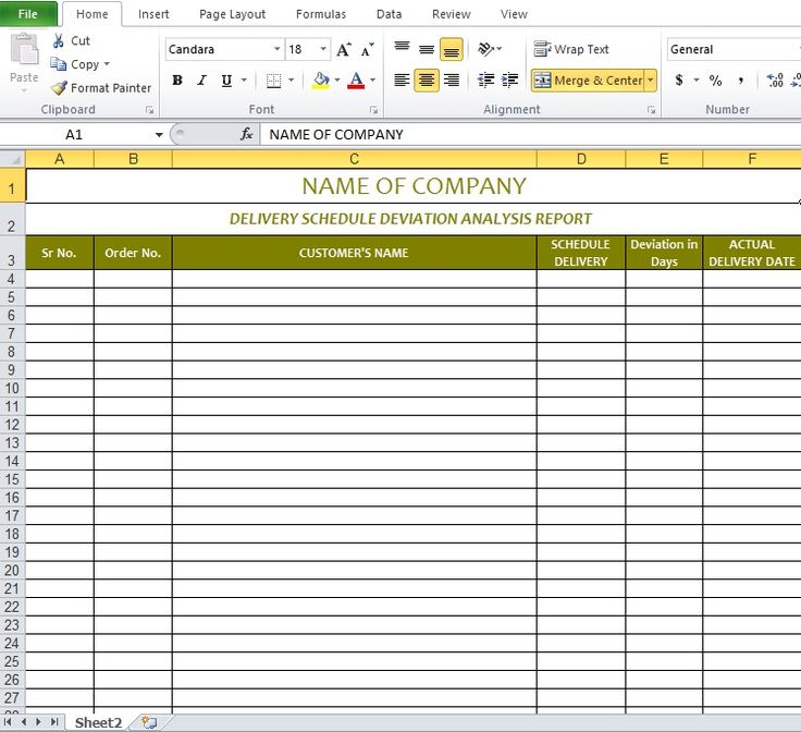 Delivery schedule template excel Excel Templates Pinterest - inventory excel template free