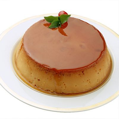 Flan - We just had a Cinco de Mayo luncheon at work someone brought Flan made from this recipe. It was probably the best flan I've ever had.. and I frequently order it in Mexican restaurants.