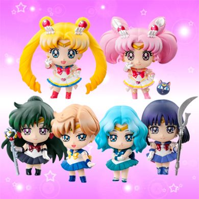 pretty guardian sailor moon crystal | Petit Chara Sailor Moon Outers