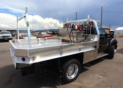 Truck Flatbed With Dump Welding Rigs Pinterest