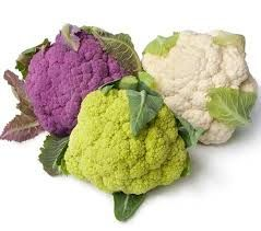 Cauliflower: long time it was old fashion but now this hottie is back on the map #Vitamin-C#B9(stimulates cell renewal)