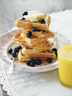 Buttermilk and Brown Sugar Waffles