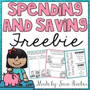 This FREEBIE is a SAMPLE from my Spending and Saving Mini-Unit found HERE!If you enjoy and use this freebie, please take the time to leave feedback! It's very much appreciated! :)Sara Rucker, Blossoming in First GradeMaterials are intended for personal use in one classroom only.