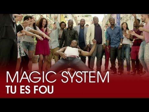 """Magic System - """"Tu es fou"""" Like David Guetta? You'll love Magic System. Faut jamais baisser les bras !"""