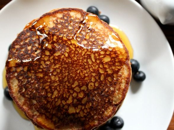 Amaranth Pancakes Recipe - I'm going to try grinding my amaranth seeds in the coffee grinder that I use to make oat flour. I've never cooked with amaranth before so this will be interesting . . . .