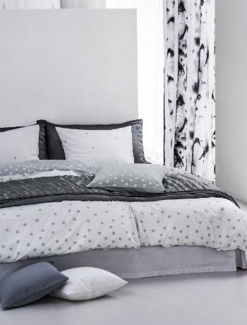 Scandinavian greys - bedroom interior design trends 2014, decorating a bedroom
