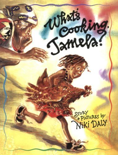 What's Cooking, Jamela? by Niki Daly (Suggested reading level: Ages 4-8) Usually, when I think of Christmas stories, I think of re-tellings of the first Christmas. Or I think of snow and pine tree...