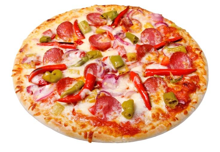 Wallpaper Orijinal pizza, peynir, sosis, sebze, pişmiş Arkaplan Download Resim, Resim WallpapeprsCraft