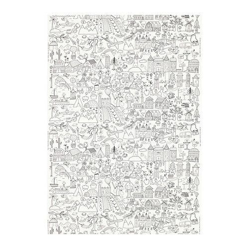 100 Ikea Tidny Cotton Colour in Fabric by MimsyCrafts on Etsy, £8.00