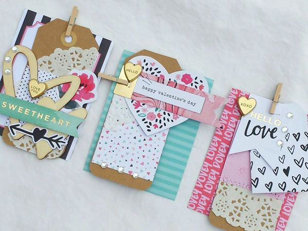 I love to make tags. And Valentine's Day tags are my favorite ones to make. When I received the January Bits and Pieces kit, I knew that's exactly what I wanted to do with it. The beaut…
