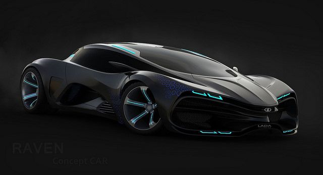 Lada Raven Supercar Concept Luxury Sports Cars