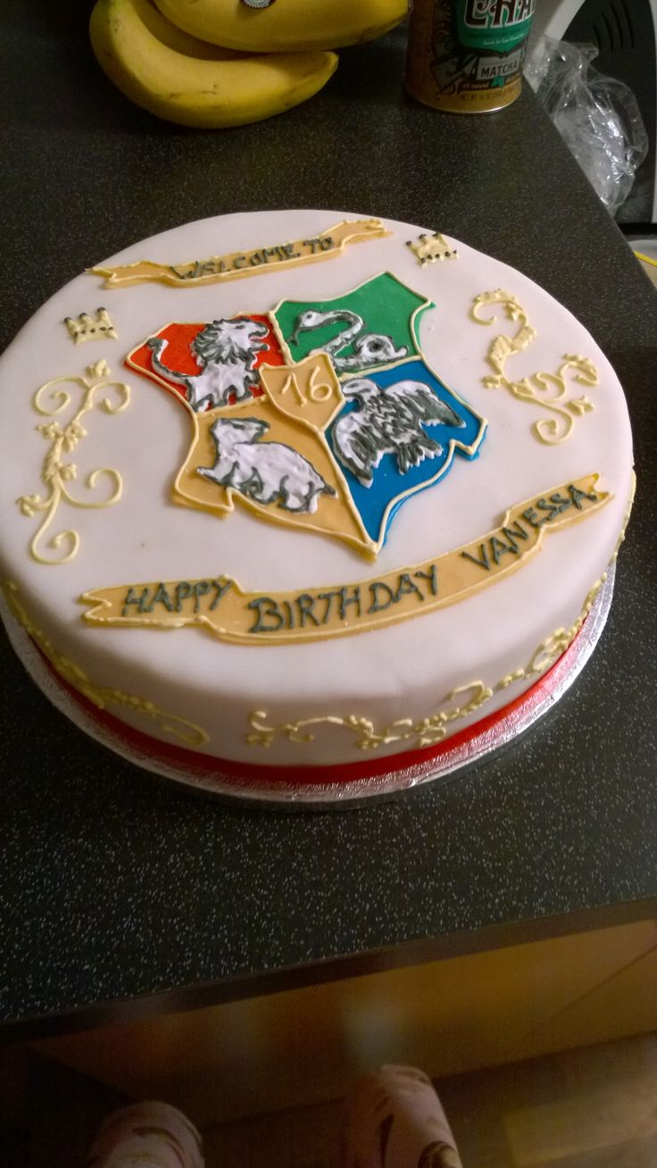 Birthday Cake Ideas Harry Potter : 681 best images about Harry Potter Cakes on Pinterest ...