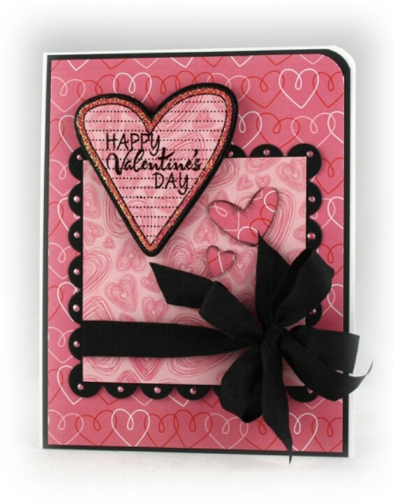 503 best Valentine cards and scrapbook layouts images on Pinterest ...