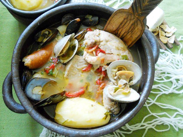 Cocina chilena barato y rico: CURANTO en OLLA