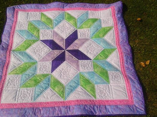 cotton top /cuddle backing ...  60 x 60 ....