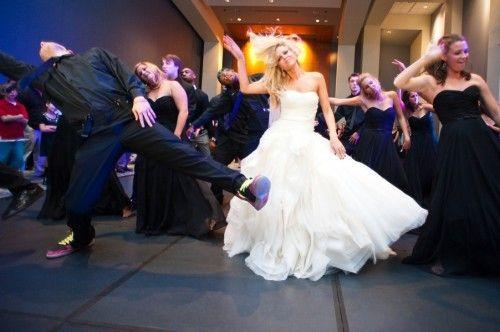 Best wedding day tip - have a ball!: Dance Parties, Thrillers,  Sealyham, Dreams Wedding3, Bridal Parties, Fun Dance, Dreams Wedding 3, Bride Dance, Sealyham Terriers
