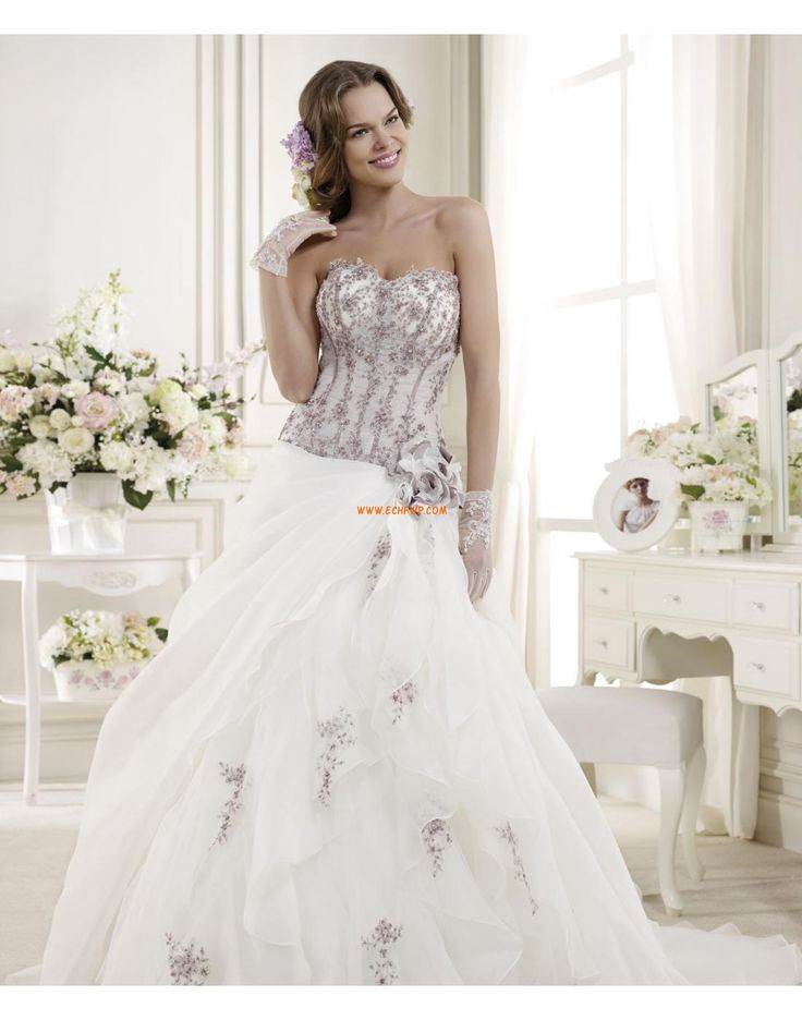 483 best summer bridal gowns images on Pinterest | Wedding frocks ...